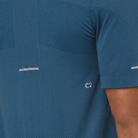 asics Gel-Cool Seamless SS Top Men Dark Blue